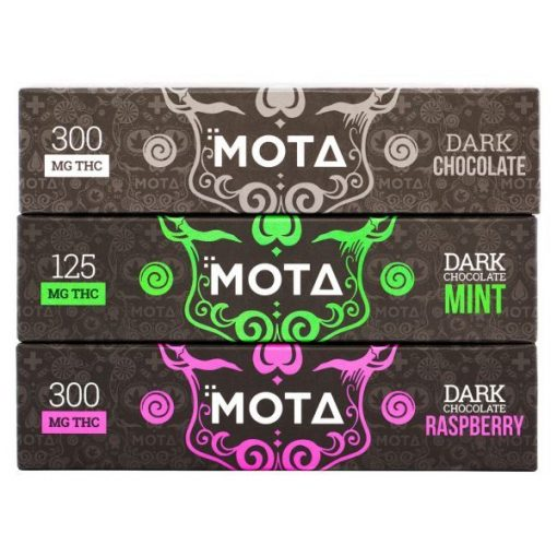 Mota Dark Chocolate bar 300mg