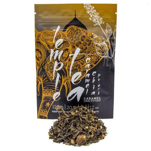 Temple Tea Caramel Chai Pu-Erth