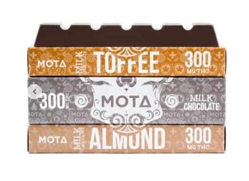 Mota Milk Chocolate Bar 300mg THC