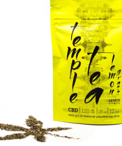 Temple CBD tea lemon grass bag