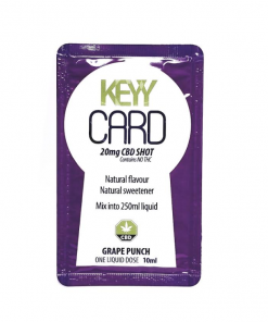 Keyy card grape CBD Shot