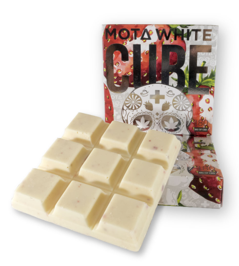 Mota Cream White Chocolate CBD Cube