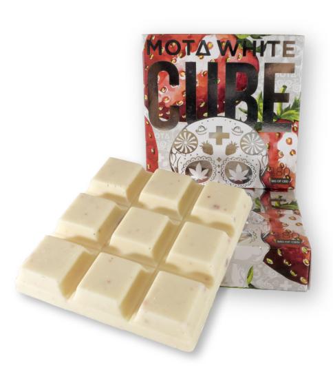 Mota Cream White Chocolate CBD Cube