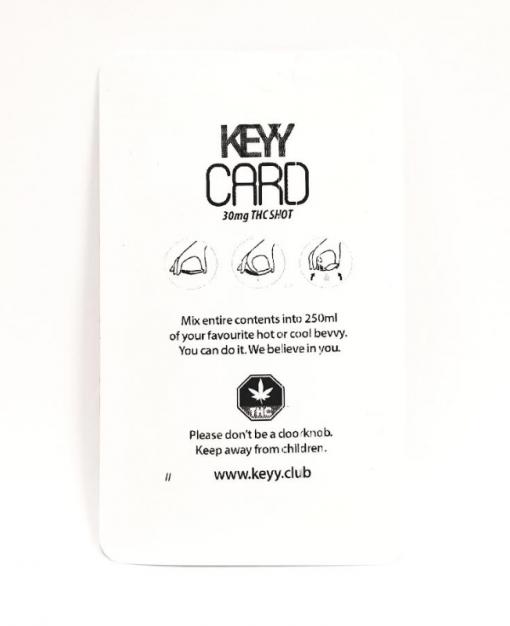 Keyy card THC Shot