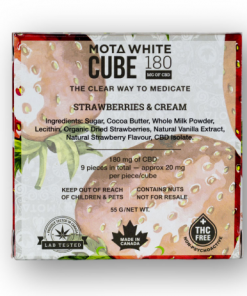 Mota White Cube Strawberries and Cream