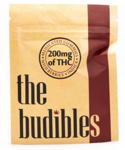 The Budibles wild berries | THC buy online