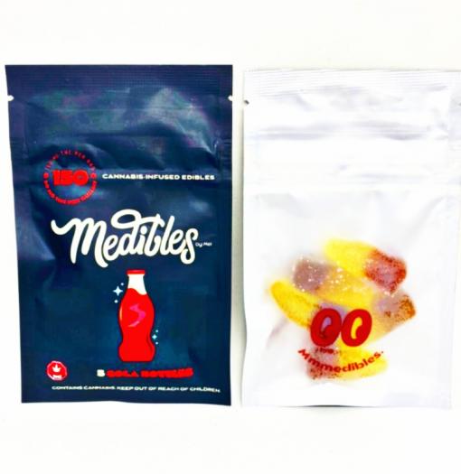 Medibles Cola Bottles